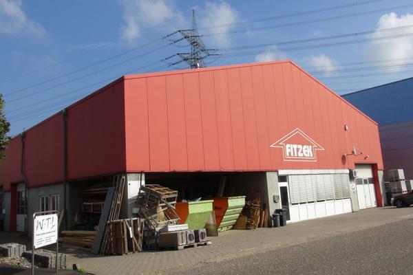 Betriebsgebäude  für Dachdeckerbedarf, Brühl