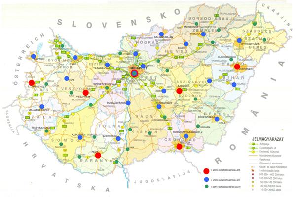 Machbarkeitsstudie  Notfallversorgung und Rettungsdienst, Ungarn